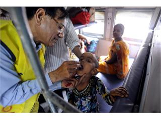 Rotary Celebrates India's First Polio-Free Year, But Cautions The Job Is Not Yet Finished