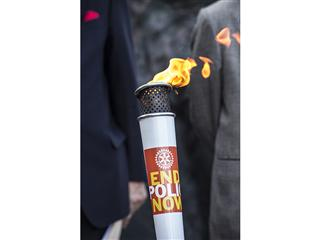 Rotary torch to stop in Evanston on journey around the world in celebration of a polio-free India