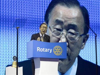 2016 Rotary International Convention  opens with 50,000 registrants from 160 nations