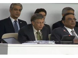 Video from U.N. General Assembly Polio Event Part 5