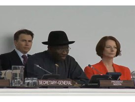 Video from U.N. General Assembly Polio Event Part 3
