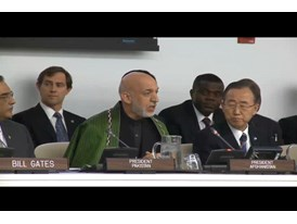 Video from U.N. General Assembly Polio Event Part 4