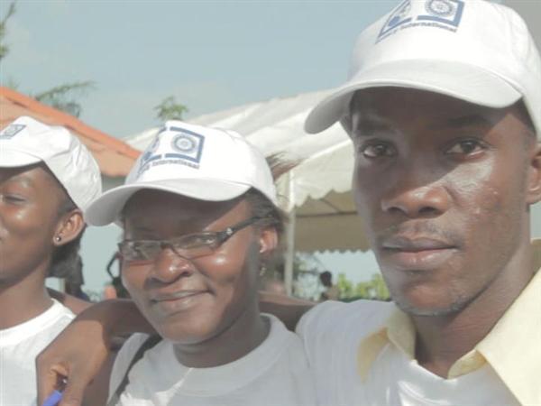 Polio immunization Cote d'Ivoire 2013