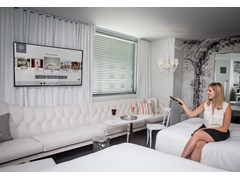 SBE & Samsung Set New Benchmark for Premium In-Room Guest Experience at SLS Las Vegas Hotel & Casino