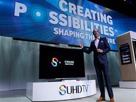 2015 CES Samsung Press Broll