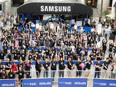 Post-event Update: Samsung, Nick Cannon And Julianne Hough Smash Selfie World Record At Ditch Day And Donate $50,000 To Habitat For Humanity Of Greater Los Angeles