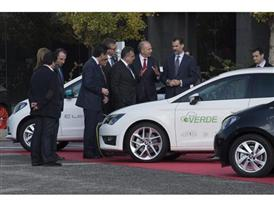 Visit by King Felipe VI of Spain culmination of SEAT Ibiza's 30th anniversary 3