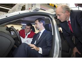 Visit by King Felipe VI of Spain culmination of SEAT Ibiza's 30th anniversary 5