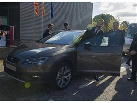 Visit by King Felipe VI of Spain culmination of SEAT Ibiza's 30th anniversary 15