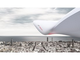Image of the winning project based on a cloud that can travel freely from one city to another