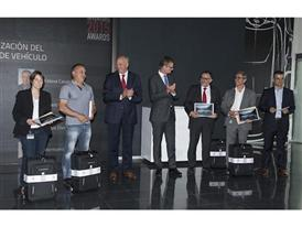 SEAT Chairman of the Executive Committee Jurgen Stackmann and Executive Vice-President for R&D Dr Matthias Rabe present