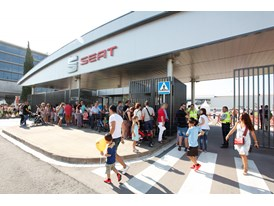 Access to SEATs Martorell facilities during the open door event