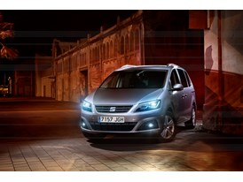 SEAT Alhambra, exterior, static shot, 34 front view