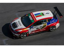 Shane Anthony Williams (Wolf-Power Racing) debuted in the SEAT Leon Eurocup with two podiums at the Red Bull Ring