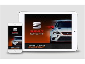 The SEAT Leon Eurocup now has its own App