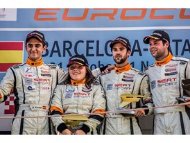 Mikel Azcona, Lucyle Cypriano, Pol Rosell and Niels Langevels (2)