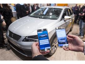 Connectivity is a key factor for SEAT and the technological alliance with Samsung and SAP shows its commitment to develo