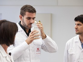 A dedicated team of chemists at SEAT work exclusively on getting the right smell in new cars