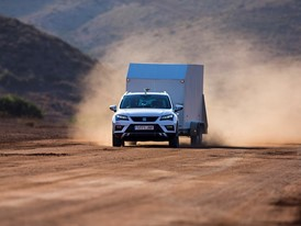 The Towing control test verifies the performance of the Trailer Stability Program