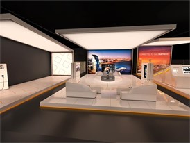 Render of SEAT's stand at the Mobile World Congress