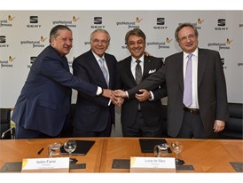 SEAT and GAS NATURAL FENOSA partner to promote gas as vehicle fuel