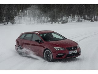 The Leon CUPRA's 300 hp output makes it the brand's most powerful model