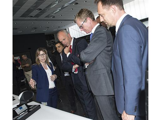 SEAT Chairman of the Executive Committee Jurgen Stackmann has firs hand knowledge of the patents and innovations registe