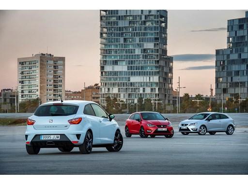 SEAT Ibiza CUPRA range