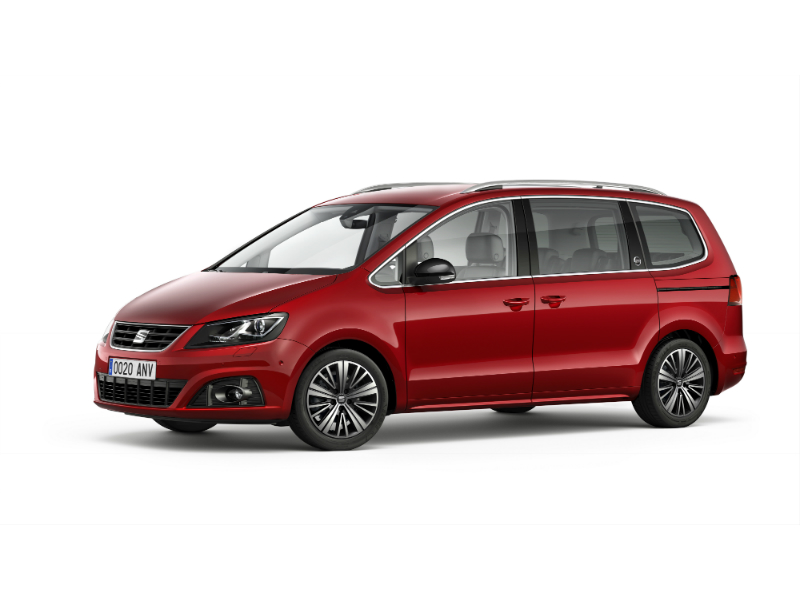 SEAT Alhambra, exterior, static shot, 3/4 front view
