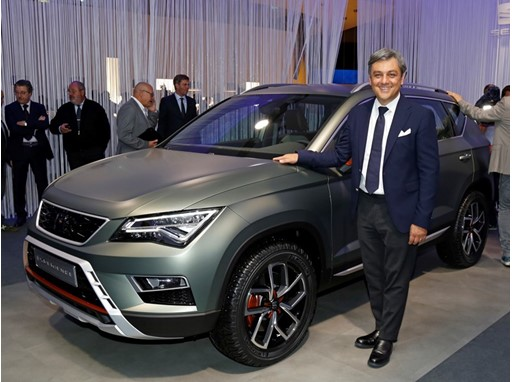 Luca de Meo presents the Ateca X-Perience