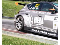 The SEAT Leon Eurocup moves on wheels