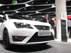 2015 Frankfurt Motor Show - SEAT cars connect with the future