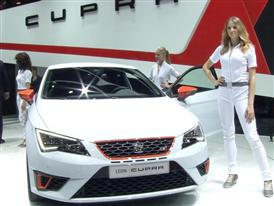 Footage: SEAT Press Conference at the Geneva Motor Show 2014