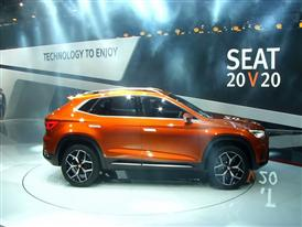 Footage: SEAT unveils its future with the 20V20