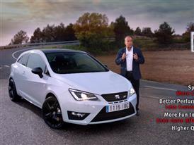 The New SEAT Ibiza CUPRA Pure Performance, Pure Driving Fun