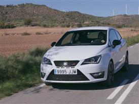 The New SEAT Ibiza CUPRA 2015 White