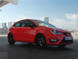 The New SEAT Ibiza CUPRA 2015 Red