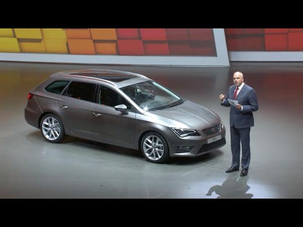 SEAT Leon ST Makes Its World Debut