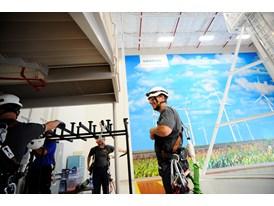 Workers training at Siemens Orlando Wind Service Training Center