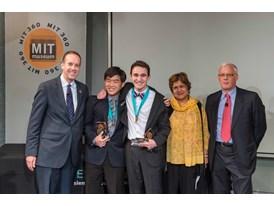 MIT – Aaron Argyres and  Mingu Kim, Team Winners