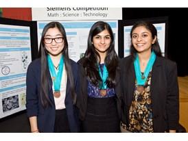 CMU – Priyanka Wadgaonkar, Zainab Mahmood, and Jaiwen Pei, Team Winners