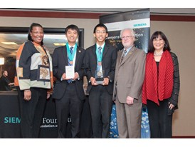 Caltech – Andrew Jin and  Steven Wang, Team Winners