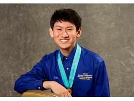 Eric Chen, $100,000 Scholarship, Individual Winner
