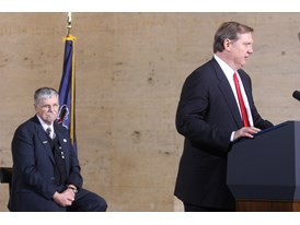 February 2014 - Siemens USA President and CEO Eric Spiegel and Amtrak President Joseph Boardman (Amtrak)