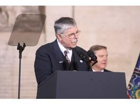 February 2014 - Amtrak President Joseph Boardman speaks at the debut of the Amtrak Siemens ACS-64 Cities Sprinter