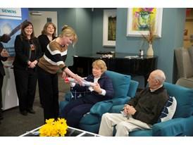 Siemens, American Cancer Society's Hope Lodge and SU2C kick off The Baton Pass™ 3/19/14