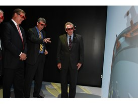 A demo of Siemens software at CCAM's 3D visualization lab. 6/4/14