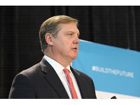 Eric Spiegel, CEO Siemens Corporation USA, speaks at the Commonwealth Center for Advanced Manufacturing 6/4/14