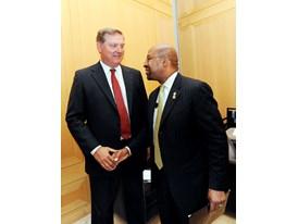 Siemens USA CEO Eric Spiegel & Philadelphia Mayor Michael Nutter 7/16/14