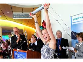 Celebrating the One Millionth Baton Pass at Hershey Children's Hospital, 9/2/14